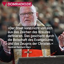Das sagte kardinal reinhard marx in seiner predigt am gründonnerstag. Domradio De Kardinal Marx Wirft Ministerprasident Soder Facebook