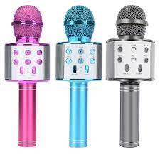 Ws858 Taşınabilir Karaoke Mikrofon Kablosuz Profesyonel Hoparlör Ev Ktv El  Mikrofonu Parti Çocuklar Için - Buy Mikrofon Karaoke Mikrofon Satın  Kablosuz Mikrofon El Taşınabilir Hoparlör Ev Ktv Oyuncu Ile Dans Led  Işıkları