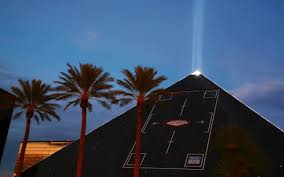 The Casino Light Beam Thats So Bright It Has Its Own