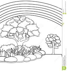 Small Picture Garden Coloring Page Stock Illustration Image 86352797