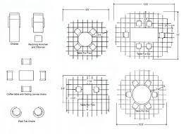 average patio size diagram of