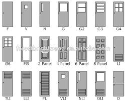 Luxury Fancy Design Flush Door Type Wholesale price for Hotel Door Price