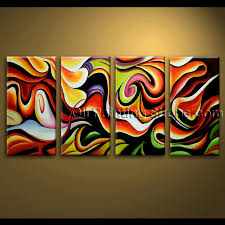 Extra Large Wall Art Abstract Painting Home Decoration Ideas Canvas Modern  39 Wall