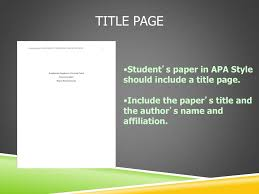 Ppt Apa Style Workshop An Introductory Presentation Based On The 6