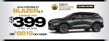 Special Offers At Strosnider Chevrolet Strosnider Chevrolet