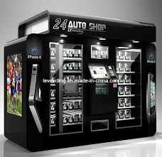 Robot Vending Machine Stunning 48hours Shop Auto Vending Machine With The Robot Arm ABS