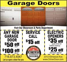 Garage Doors!, Ortner's Overhead Doors, Buffalo, NY