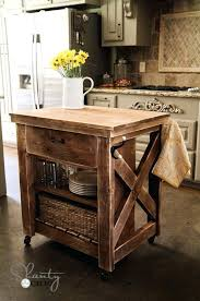 rustic kitchen island on wheels white build a rustic x small rolling kitchen island free and rustic kitchen island