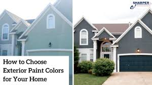 What Color Should I Paint My House Home Exterior Paint Color Tips Cool Exterior Paint Combinations For Homes