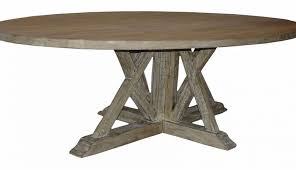 for top dining solid and base pedestal room cyclone exciting designs wood reclaimed pictures round set