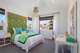 view full size contemporary girl s bedroom features a silver lotus flower chandelier