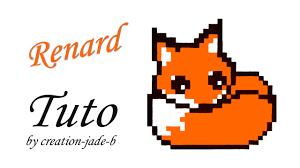 Tuto Pixel Art Petit Renard Fox Youtube Tuto Dessin Renard En Pixel ArtL