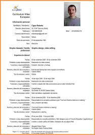 Resume Templates En Espanol Alieninsidernet