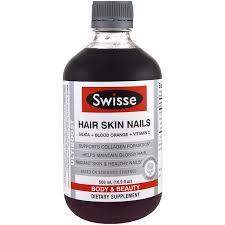 swisse ultiboost hair skin nails 16 9 fl oz 500 ml