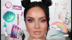 Tarte <b>Mermaid</b> Makeup vs <b>Too Faced</b> Festival Collection! - YouTube