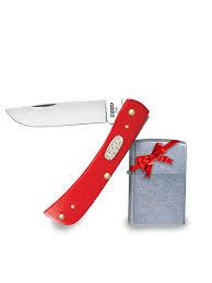 Нож перочинный Red Synthetic Smooth Sodbuster Jr. Подарок ...