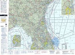 Faa Chart Vfr Sectional Jacksonville Sjac Current Edition