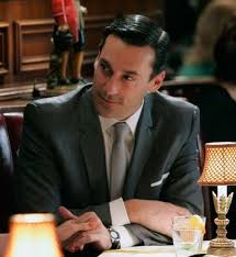 "5 watch brands we ve seen on ""mad men"" › watchtime usa s no 1 don draper wearing a jaeger lecoultre memovox"