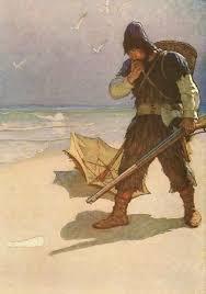 best robinson crusoe ideas go to history go to n c wyeth illustration for robinson crusoe