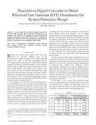 Transient Protection Design Pdf Transient To Digital Converter To Detect Electrical