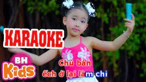 KARAOKE] Bắc Kim Thang Cà Lang Bí Rợ | Nhạc Thiếu Nhi Karaoke cho bé -  YouTube
