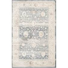 safavieh vintage dark blue cream 4 ft x 6 ft area rug