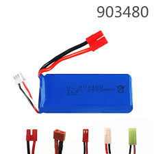 <b>7.4v 2500mAh</b> 25c Lipo <b>battery for</b> Syma X8C X8W X8G X8 RC ...