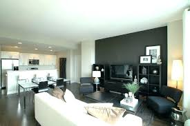 accent wall with gray