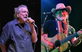 <b>Robert Plant</b> says Willie Nelson gives away free weed from his tour ...