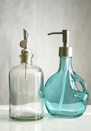 glass soap pump recycled dispenser uk