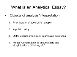 the analytical essay ppt video online  what is an analytical essay