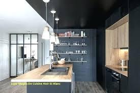 Cuisine Noir Mat Et Bois Ikea Hosting4you Us Avec Cuisine Noir E Mat