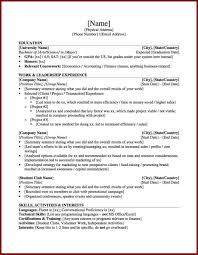 Student Cv Template Sample Resume For College Applic Ptasso