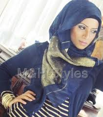 samans makeup and hijab styles
