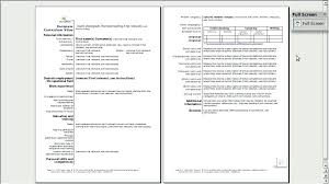 Free Resume Templates Open Office Reluctantfloridian Com