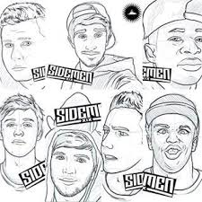 sidemen vik has a mustache what i am confused but amazing drawing