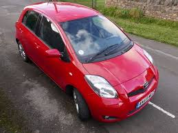 Toyota Yaris 13.3 petrol Chilli Red - Service History - 1 owner ...