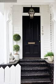 pretty white front door. White House With Black Front Door Pretty White Front Door L