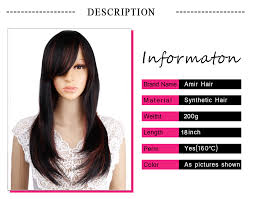<b>Amir</b> Synthetic Hair Wigs long <b>Straight</b> Blonde <b>Ombre</b> Wig for ...