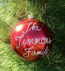 Glass Custom Ornaments  Anniversaries Occasions Celebrations Christmas Ornament Fundraiser