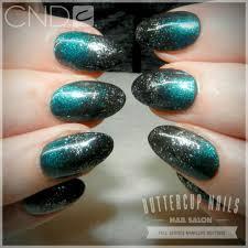 Shellac Emerald Lights Cnd Shellac In Black Pool Emerald Lights And Dark Diamonds