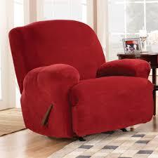 Living Room Chair Covers Furniture Dark Gray Recliner Slipcover For Living Room Decor