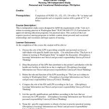 Lpnsume Crafty Template Entry Level Sample Within Licensed Practical