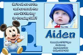 baby mickey mouse invitations birthday baby mickey mouse invitations birthday birthday invitations