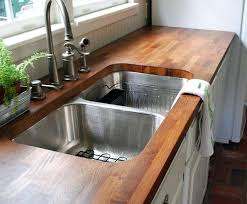 refinishing butcher block countertops review of butcher blocks counters after two years of use cleaning stained