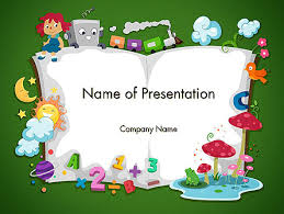Story Book Powerpoint Template Storybook Powerpoint Templates And Google Slides Themes