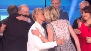 Ellen And Portia Ellen Degeneres Tearfully Celebrates 20th Anniversary Of Her