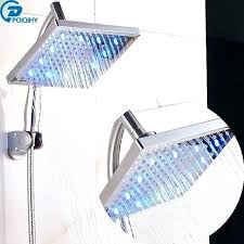 rainhead shower arm showers rain head shower arm 8 led abs pipe top over rainfall adjule rainhead shower arm rainfall