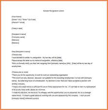 work resignation letters unhappy employee resignation letter word free