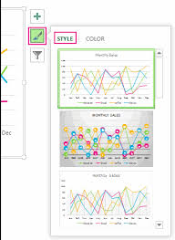 Excel Chart Line Color Change The Color Or Style Of A Chart In Office Office Support